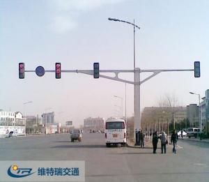 青海玉树重建信号灯工程