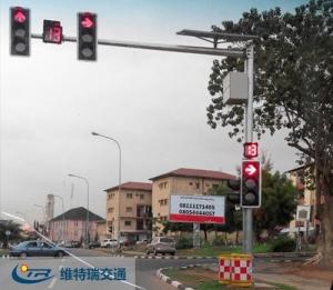 信号灯产品出口安装实景图