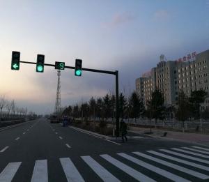 吉林交通信号灯工程实景图