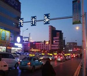 锦州主动发光标志牌案例