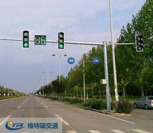 交通信号灯的位置如何安装?