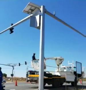 消息来自津巴布韦——哈拉雷信号灯工程