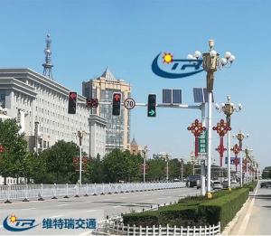 LED交通信号灯和普通交通信号灯的对比