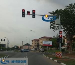 交通信号灯的放行顺序