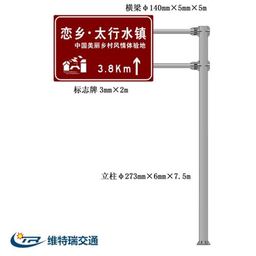 旅游景区交通标志牌