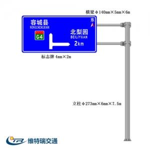 国道交通标志牌